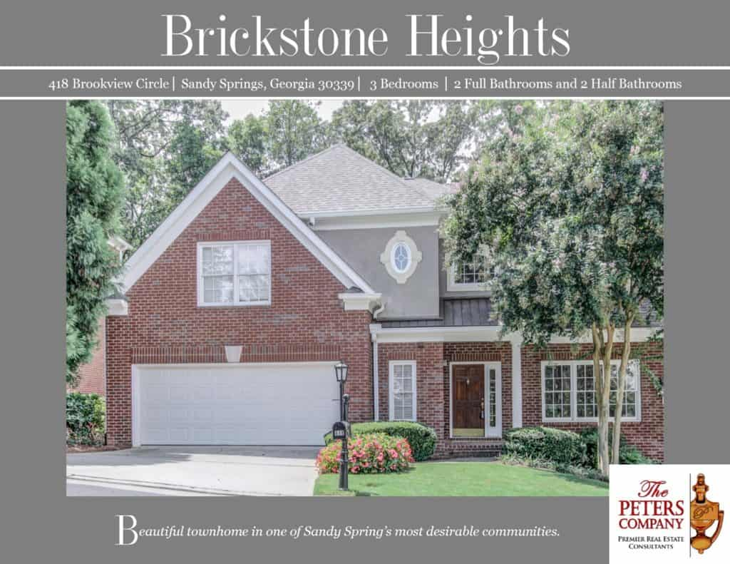 418 Brookview Circle Flyer front