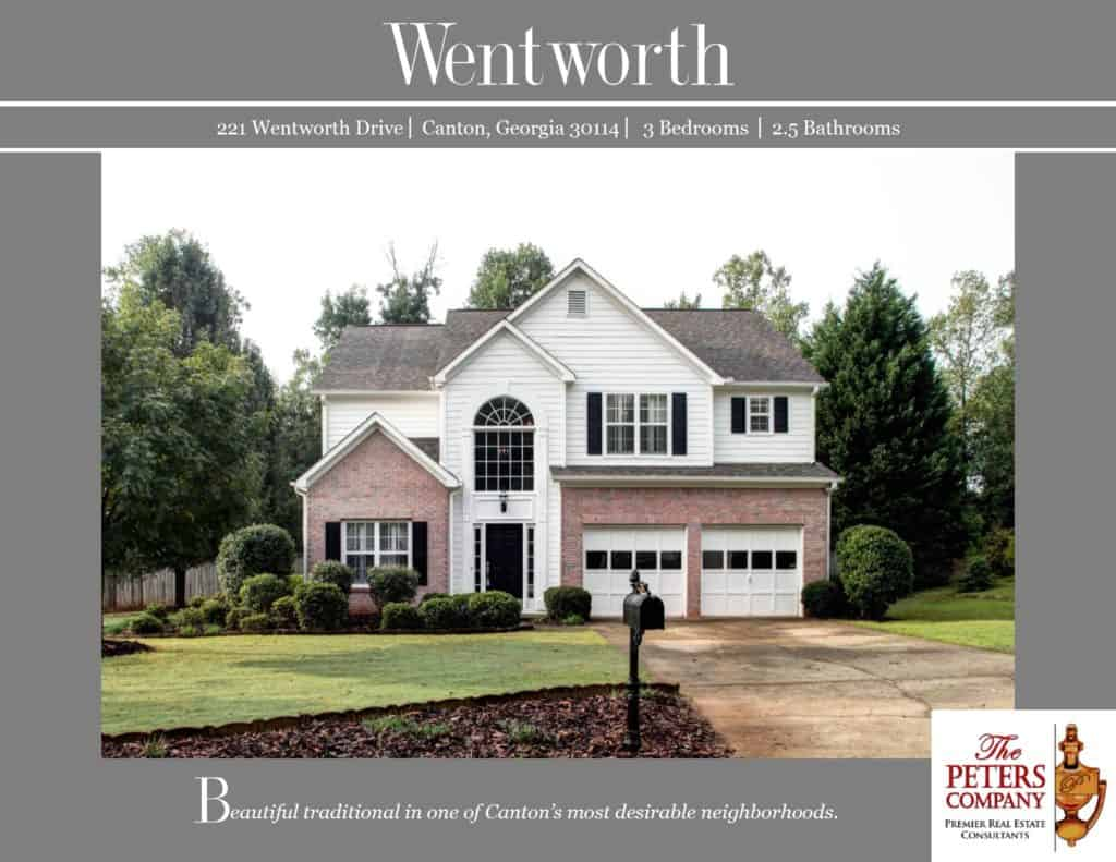 221 Wentworth Drive Flyer front