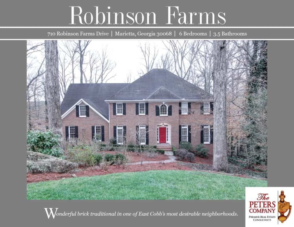 710 Robinson Farms Drive Flyer front