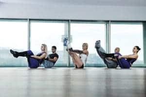 picture of a fitness class